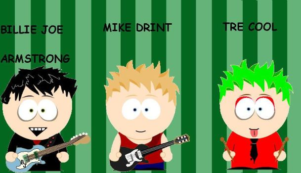 south park green day 3 by Jins-girl