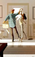 A little cleaning, a little dancing, a lot of love by PascalCampion
