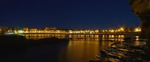 Coogee Bay by Night by MarkLucey