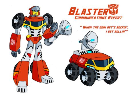 TF Animated - Blaster by sketchmasterskillz