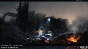 Battlefield 3 Artwork Earthquake HD by Pixero111