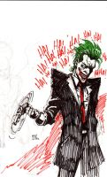 joker sketch by defected-angel