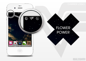 Flower Power Carrier Logo by ashleighwin