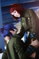 Mukuro and M M by AllexisN