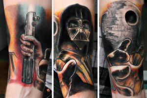 Star Wars sleeve - part 1 by Nis-Staack