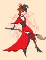 Witchy Women : Ginevra by Le-Artist-Boheme