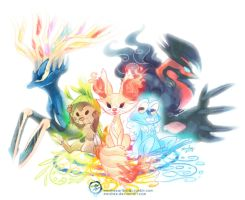Gen 6 Babbies by mmishee