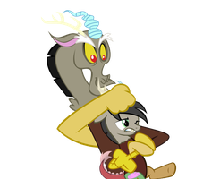 Discorde Holding Bella Commission by MLP-Scribbles