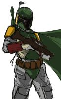 30 Min Fett Sketch by SamTodhunter