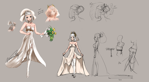 Kerria wedding dress by Vinsuality