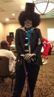 Brook cosplay by CrazyHarrison