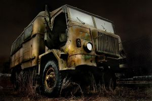 Old Military Truck by Ice-Dark