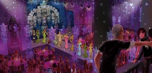 Wild-JEM Pageant hall in the comic by chakotay02