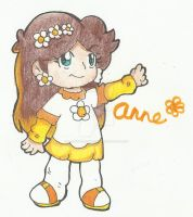 New OC: Anne by goldenwinterdaisies