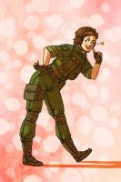 MGS - singing snake sensation by FerioWind