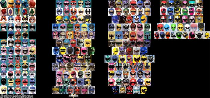 SUPER SENTAI ALL CHARACTERS 3 by park-ji-su