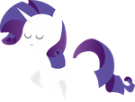 Little Rarity Figure by MikeTheUser