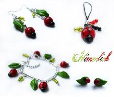 Fimo Ladybirds by Himmlich