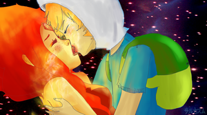 Burning Low   Adventure Time by DeAtHofCopPeLIA