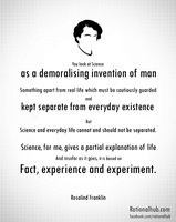 Rosalind Franklin on Science by rationalhub
