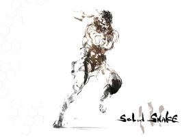 Metal Gear Solid - Solid Snake by killthedrummer