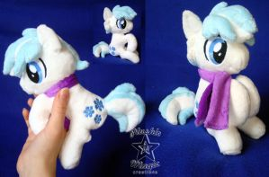 Double Diamond pocket-sized plushie SOLD by SunflowerTiger