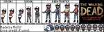 The Walking Dead All Clementine Trainer Sprite by mid117