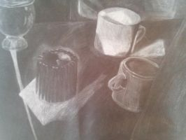Charcoal Candle by RileyHavoc