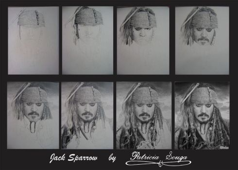 Jack  Sparrow Making-of by Patricias2