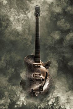 Rockstar guitar by DX2Photography