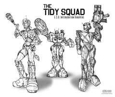 Tidy Squad by wiledog