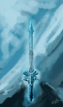 Frozen Sword by sao96