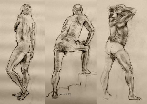 Life Drawing 8 by nictey