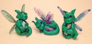 Pixie Dragons by The-GoblinQueen