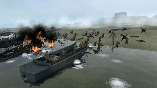 June 6, 1944. Omaha beach. by TheSniperKid