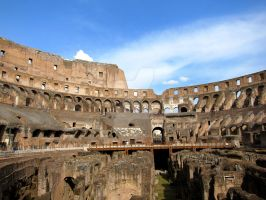 Rome: the Colosseum 2 by bigbirdsinsmallcages