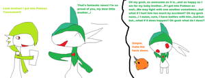 Oh dear Gallade...Part 2 by PokeLover456