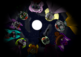 Circle You Circle You by GrandstarPaintswirl