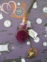 Essence of Madness drink me potion by ilikeshiniesfakery