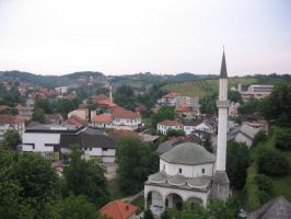 view of Gradacac by dreamwriter411