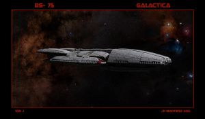 BS-75 Galactica by dragonpyper