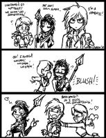 FF13 Mini Comic by johnjoseco