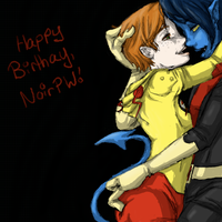 Happy Birthday Noir by elenorasweet