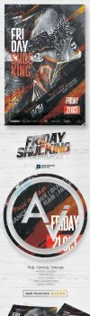 Friday Shocking Flyer Template V2 by amorjesu