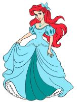 Ariel's Dress by Rayre