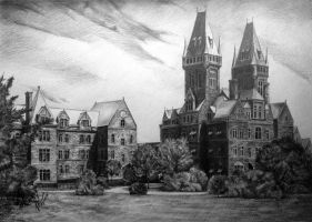 Outlast: Mount Massive/Buffalo State Hospital by Aiden2107