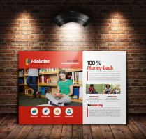 Education Post Cards Template by Designhub719