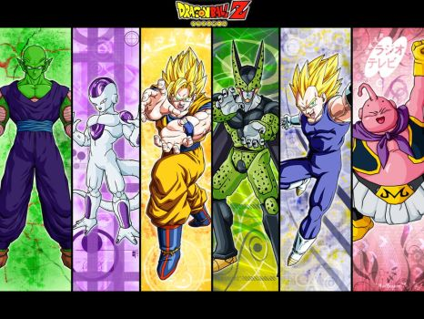 Heroes Of DragonBall Z by JkSuf