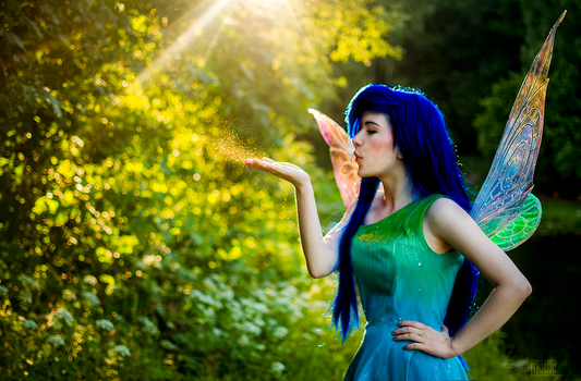 Sprinkle me with Pixie Dust! by GlowingPearl