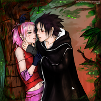Into the woods by PropertyoftheUchiha